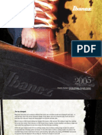 IBANEZ Product Catlog 2005