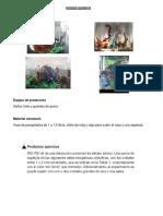 bosque químico vidrio líquido