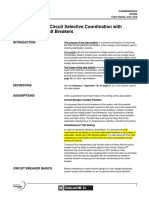 Selective coordination bulletin