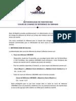 Méthodologie de Fixation Des Cours de Change de Référence Du Dirham