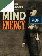 Henri-Bergson-Mind-Energy