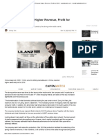 China Lilang Reports Higher Revenue, Profit for 2019 - capitalwatch.com - via @CapitalWatchCom