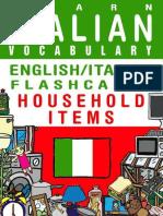 (FLASHCARD EBOOKS) Flashcard Ebooks - Learn Italian Vocabulary - English_Italian Flashcards - Household Items (2013).epub