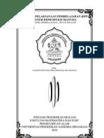RPP Siklus Belajar ALAT REproduksi (Rai Priawiguna, GST PT. Biologi Udiksha.)