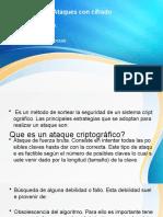 Ataques con cifrado (2)