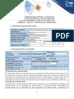 Guía de actividades y rúbrica de evaluación - Tarea 3 - Teoremas de conservación (3).docx