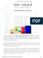 Cómo calcular la fórmula de un jabón _ Cómo hacer jabones.pdf