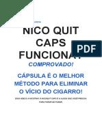 Nico Quit Caps Funciona?.Como Parar de Fumar