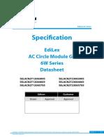 Edison Opto_EdiLex AC Circle Module G3 6W Series_Eng_V1
