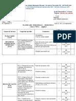 planificare MATE CL 8 2019-2020