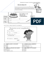 Guia N° 2 - Extraer información explícita e implícita de una invitación.
