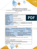 Guia de actividades y rubrica de evaluacion - Fase 5 -Evaluacion Final