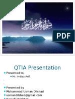 Usman Dilshad QTIA Presentation Scribd