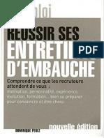 Réussir ses entretiens d'embauche by Perez, Dominique (z-lib.org)