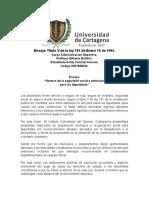 Ensayo-Titulo V de la ley 181 de Enero 18 de 1995
