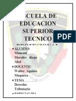 TRABAJO APLICATIVO derecho probatorio A-2 PNP MAMANI MORALES DIEGO ABEL.docx