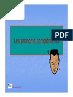 Les pronoms complements (explication avec exemples)