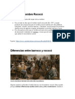 historia rococo
