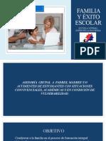 FAMILIA Y ÉXITO ESCOLAR. F