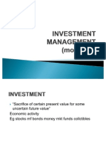 Investment Management Module 1