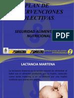 PRESENTACION Lactancia materna y alimentaciion complementaria 2019