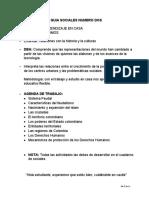 CLASES DE CIENCIAS SOCIALES GRADO 7° DOS