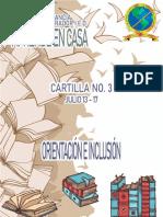 Cartilla Inclusión grados Transición_ 1° y 2° sede B JM y JT del 13 al 17 de julio 2020
