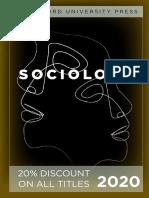 Stanford University Press   Sociology 2020 Catalog