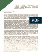 Messaggio Papa Benedetto XVI all'Argentina