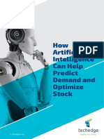 How Artificial Intelligence Can Help Predict Demand and Optimize Stock