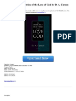 the-difficult-doctrine-of-the-love-of-god
