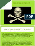 AGENTE DE RIESGO QUIMICO