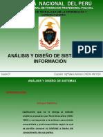 1. ANALISIS Y DISEÑO DE SISTEMAS