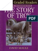 The Story Of Troy - (DK ELT Graded Readers) - David Maule - 2000 {SCAN}