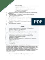 Planificación y organización en COBIT