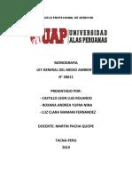 ESCUELA PROFECIONAL DE DERECHO