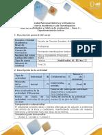 Guía de actividades y rúbrica de evaluación - Fase 4 - Experimentación Activa (2).pdf