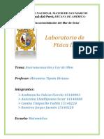 laboratorio 3 física III