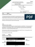 Northwest Kennels USDA Inspection Reports