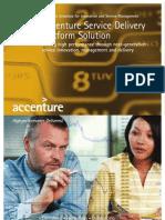 Accenture Service Delivery Platform FY09