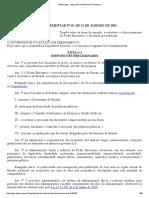 Lei Complementar Estadual - 049-2003 EBAPE
