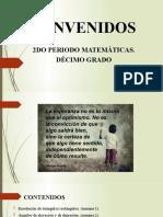 BIENVENIDOS - DECIMO