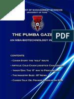 The PUMBA Gazette - December '10 Edition