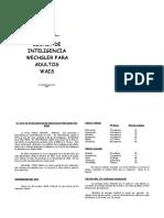 el test de inteligencia de wechsler para adultos wais(2).doc