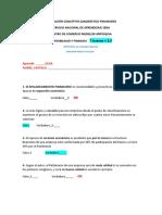EVALUACIÒN CONCEPTOS DIAGNÓSTICO FINANCIERO.
