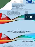 TEMA 4.1 CORRELACIONES DE FLUJO EN TUBERIAS VERTICALES .-- DIAPOSITIVAS -