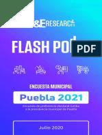 Flash Polls 2021 Puebla Julio 2020