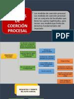 Medidas de Coerción Procesal