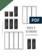 Make a Keyboard Puzzle