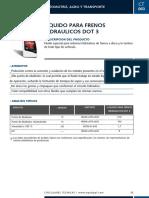 579_Liquido para Frenos DOT3 - Circular Tecnica